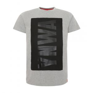 LFC MEN MENS RAISED YNWA GREY MARL TEE