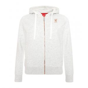 LFC WOMEN WOMENS ICE MARL ZIP THRU HOODY