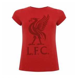 LFC WOMEN WOMENS LIVERBIRD RED MARL TEE