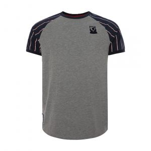 LFC MEN MENS SHORT SLEEVE FOOTBALL RAGLAN STRIPES TEE