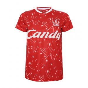 LFC WOMEN RETRO CANDY HOME ROUND NECK RED