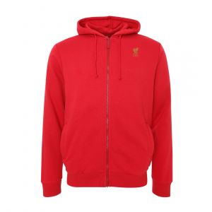LFC MEN MENS RED ZIP THROUGH HOODY