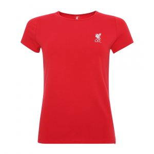 LFC WOMEN LIVERBIRD RED  ROUND NECK