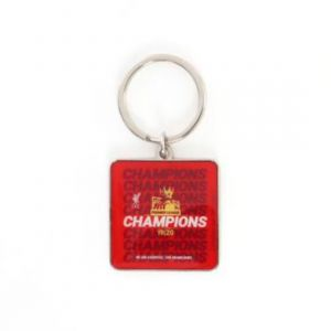 LFC UNISEX LFC EPL CHAMPIONS 19-20 KEYRING ACCESSORIES RED