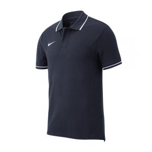 NIKE KIDS TEAM CLUB 19 POLO NAVY