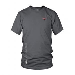 AL MEN AL X LUPK S. PATCH ROUND NECK GREY