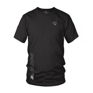 AL MEN AL X LUPK DEEP ROUND NECK BLACK