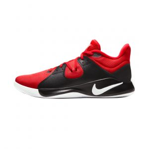 NIKE MEN FLY BY MID BASKETBALL RED