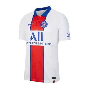 NIKE MEN PARIS SAINT-GERMAIN 2020/21 STADIUM AWAY JC REPLICA WHITE