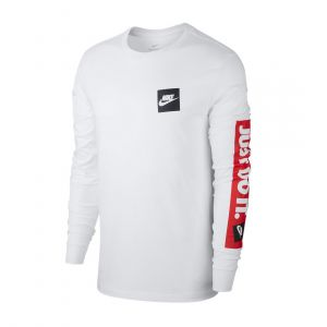 NIKE MEN ROUND NECK LONGSLEEVE JUST DO IT BUMPER