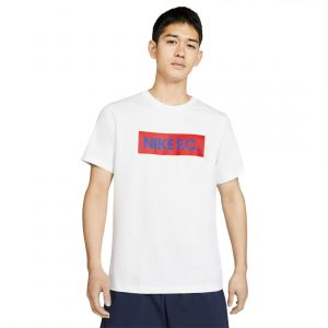 NIKE MEN F.C. TEES ROUND NECK WHITE