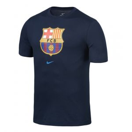NIKE MEN FC BARCELONA ROUND NECK BLUE