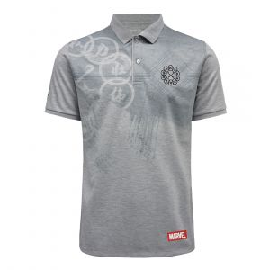 FBT MEN FBT MARVEL SHANG CHI POLO SHIRT  LIMITED COLLECTION (LIMITED QUANTITY) POLO GREY