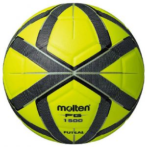 MOLTEN FUTSALL BALL LIME (LAMINATED)