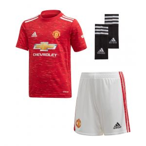 ADIDAS KIDS ADIDAS MANCHESTER UNITED 20/21 HOME YOUTH KIT