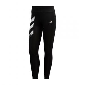 ADIDAS WOMEN OWN THE RUN 3-STRIPES FAST TIGHTS LONG TIGHT PANT BLACK