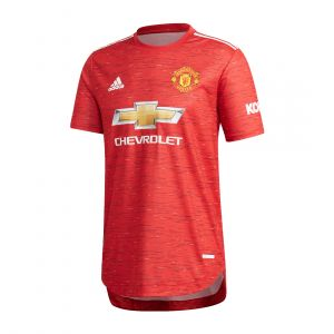 ADIDAS MEN MANCHESTER UNITED 20/21 HOME AUTHENTIC JERSEY RED