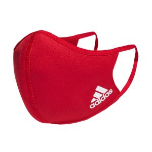 ADIDAS UNISEX FACE COVER BADGE OF SPORT ACCESSORIES RED