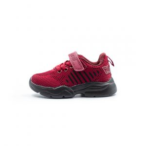 AL FLEX KIDS SHOE MAROON