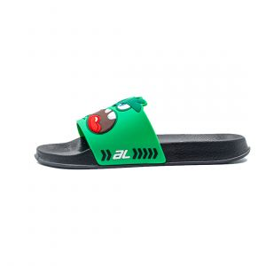 AL KIDS MONSTER SLIDE SLIPPER BLACK
